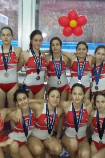 Zenska ekipa Vojvodine 2003. godista osvojila je II mesto na turniru Trofej Beograda
