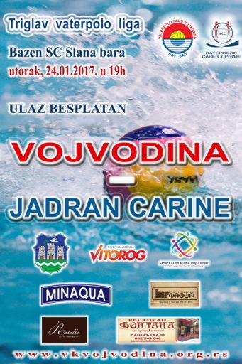 10. kolo TRVL Vojvodina-Jadran Carine