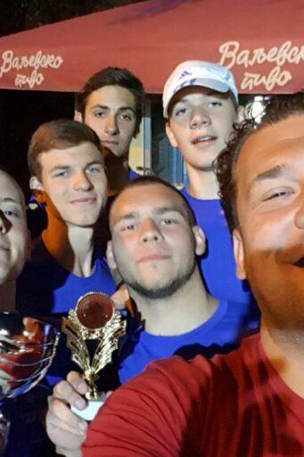 Juniorska ekipa Vojvodine osvojila je medjunarodni turnir u Valjevu