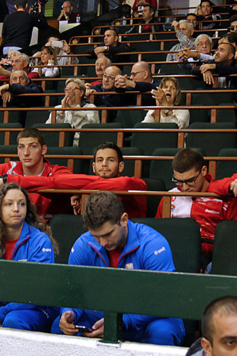Podrska odbojkasima u kvalifikacijama za Ligu sampiona