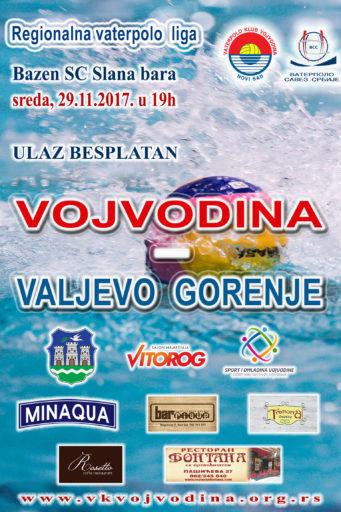 VII kolo Regionalne lige, Vojvodina-Valjevo Gorenje