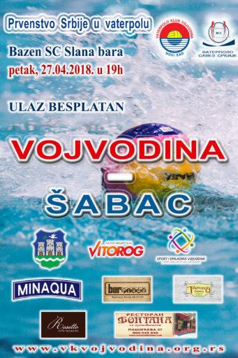 5. kolo Prvenstva Srbije – Super liga, Vojvodina – Šabac