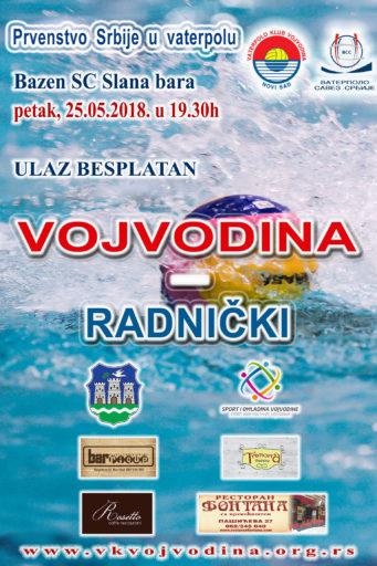 11. kolo Prvenstva Srbije, Vojvodina – Radnički