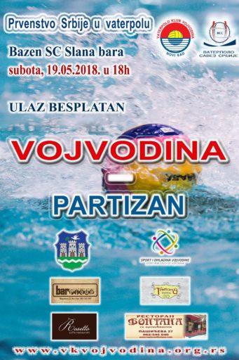 9. kolo Super lige Vojvodina – Partizan