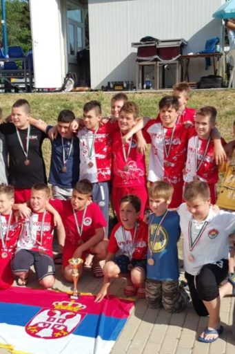 Juniori Vojvodine 2007. godište i mlađi osvojili su 3. mesto na Otvorenom Prvenstvu Mađarske
