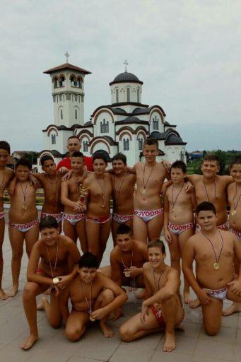 Mladi vaterpolisti Vojvodine 2006. godišta osvojili su titulu u Prvenstvu Srbije