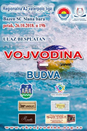 3. kolo Regionalne A2 lige, VOJVODINA – Budva