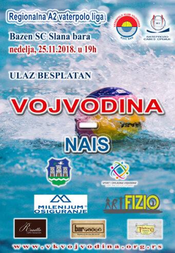 6. kolo Regionalne A2 lige, VOJVODINA-Nais