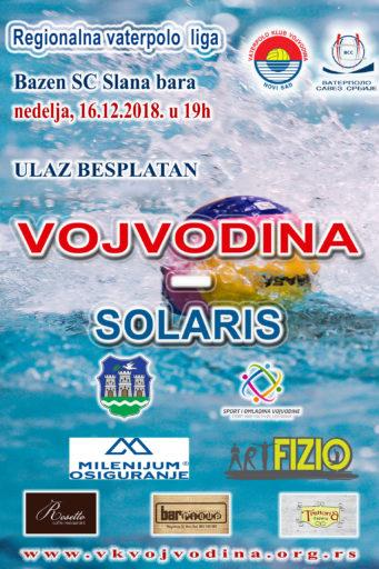 VOJVODINA-Solaris, 8.kolo Regionalne A2 lige