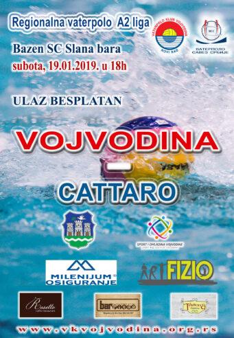 10. kolo Regionalne A2 lige VOJVODINA – Cattaro