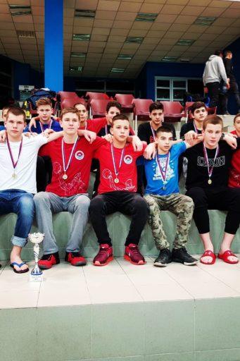 Vaterpolisti Dunava osvojili su Kup Srbije za 2005.godište.