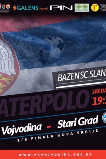1/8 finala Kupa Srbije, VOJVODINA – Stari Grad