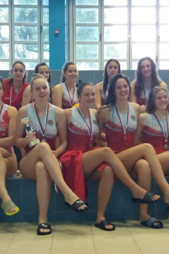Ženska juniorska ekipa Vojvodine osvojila 2.mesto u Kupu Srbije