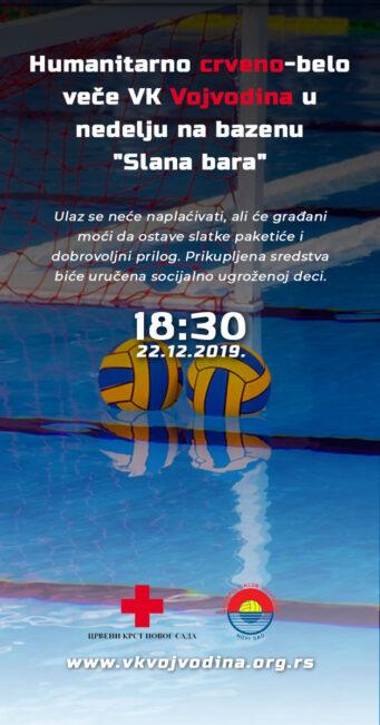 Pozivamo vas na CRVENO-BELO VEČE koje organizujemo u nedelju, 22. decembra na bazenu Slana bara na Klisi, s početkom u 18.30 časova