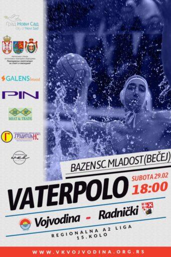 15.kolo Regionalne A2 lige, VOJVODINA – Radnički