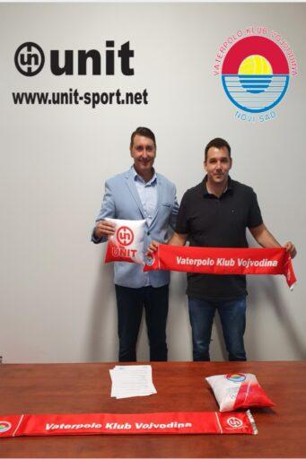 Saradnja Unit sportske opreme i VK Vojvodine