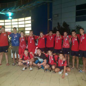 Juniorima 2.mesto na Prvenstvu Srbije