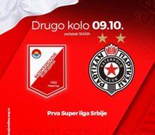 2.kolo Prvenstva Srbije – Super liga, VOJVODINA – PARTIZAN